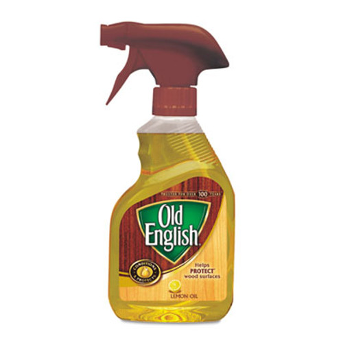 OLD ENGLISH Lemon Oil  Furniture Polish  12oz  Spray Bottle  6 Carton (RAC82888CT)