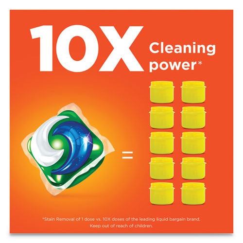 Tide Pods  Laundry Detergent  Spring Meadow  35 Pack  4 Packs Carton (PGC93127CT)