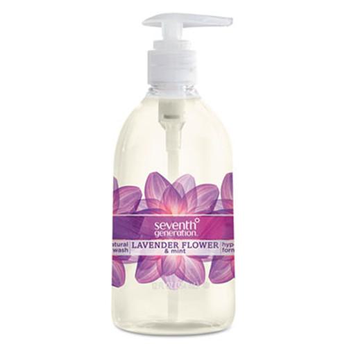 Seventh Generation Natural Hand Wash  Lavender Flower   Mint  12oz Pump Bottle  8 Carton (SEV22926CT)