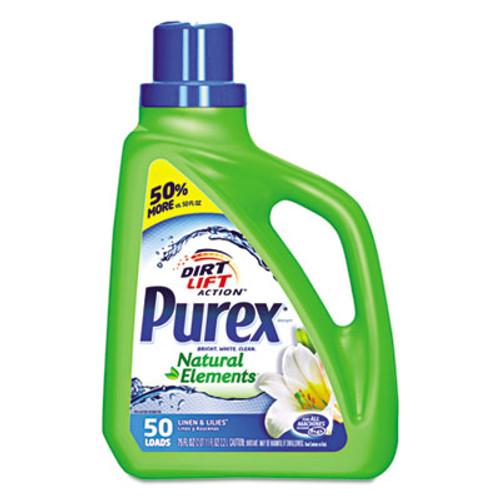Purex Ultra Natural Elements HE Liquid Detergent  Linen   Lilies  75 oz Bottle (DIA01120EA)