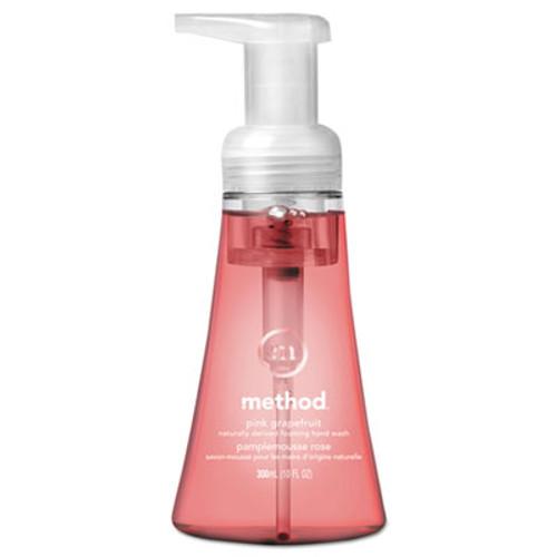 Method Foaming Hand Wash  Pink Grapefruit  10 oz Pump Bottle (MTH01361EA)