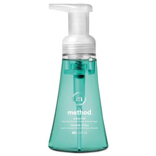 Method Foaming Hand Wash, Waterfall, 10 oz Pump Bottle, 6/Carton (MTH01160)