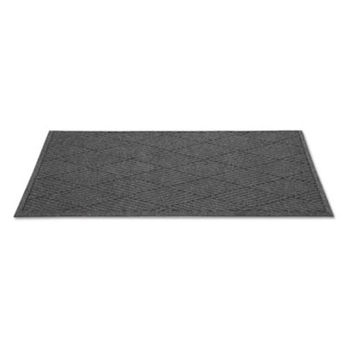 Guardian EcoGuard Diamond Floor Mat  Rectangular  36 x 120  Charcoal (MLLEGDFB031004)