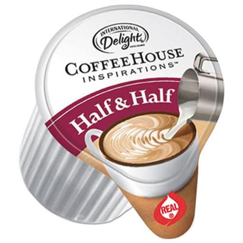 International Delight Coffee House Inspirations Half   Half   0 38 oz  384 Carton (ITD0102041)
