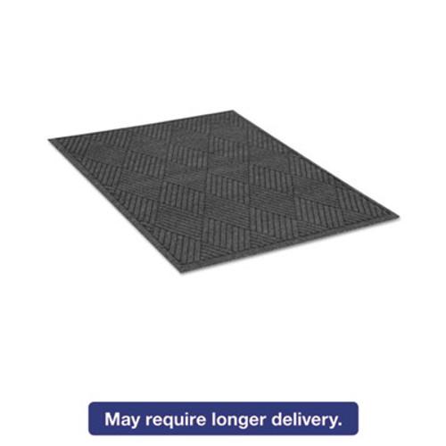 Guardian EcoGuard Diamond Floor Mat  Rectangular  36 x 60 Charcoal (MLLEGDFB030504)