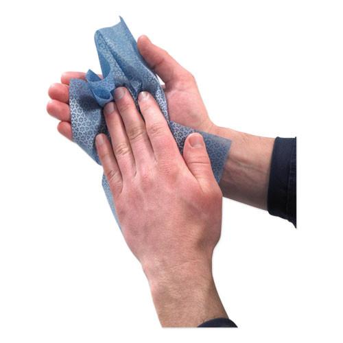 GOJO FAST TOWELS Hand Cleaning Towels  10 x 9  Fresh Citrus  Blue  60 Pack (GOJ628506PK)