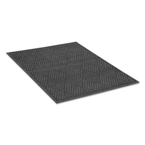 Guardian EcoGuard Diamond Floor Mat  Rectangular  48 x 72  Charcoal (MLLEGDFB040604)