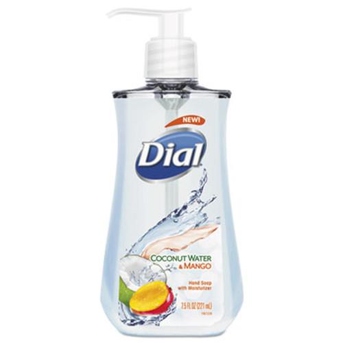 Dial Liquid Hand Soap  7 1 2 oz Pump Bottle  Coconut Water and Mango (DIA12158EA)
