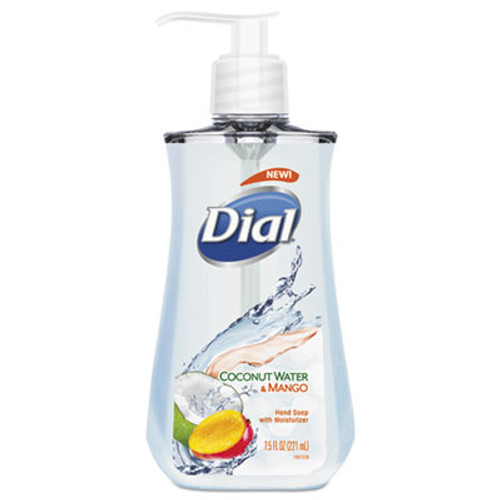 Dial Liquid Hand Soap  7 1 2 oz Pump Bottle  Coconut Water and Mango (DIA12158EA)