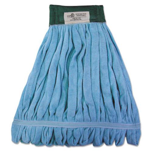 Boardwalk Microfiber Looped-End Wet Mop Heads  Medium  Blue  12 Carton  12 Carton (BWKMWTMBCT)