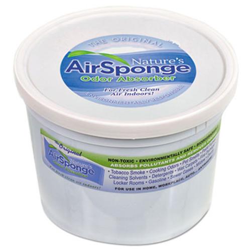 Nature's Air Odor-Absorbing Replacement Sponge, Neutral, 64 oz, 4/Carton (DEL1013)