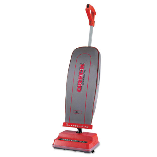 Oreck Commercial U2000R-1 Commercial Upright Vacuum  120 V  Red Gray  12 1 2 x 6 3 4 x 47 3 4 (ORKU2000R1)