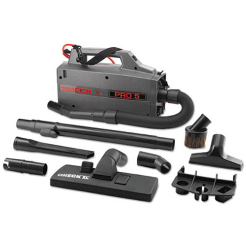 Oreck Commercial Commercial XL Pro 5 Canister Vacuum  120 V  Gray  5 1 4 x 8 x 13 1 2 (ORKBB900DGR)