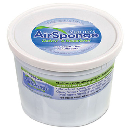 Nature's Air Sponge Odor Absorber, Neutral, 64 oz Tub (DEL1013EA)