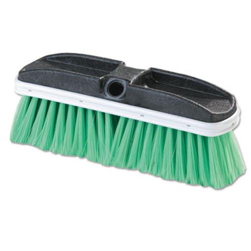 Flo-Pac Vehicle Brush  Nylex  Green Bristles  10   2 1 2  Bristles (CFS3646875)
