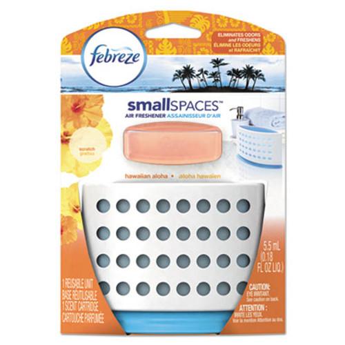 Febreze smallSPACES, Hawaiian Aloha, 5.5 ml Kit, 8/Carton (PGC90188CT)