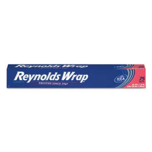 Reynolds Wrap Standard Aluminum Foil Roll  12  x 75 ft  Silver  35 Carton (RFPF28015CT)