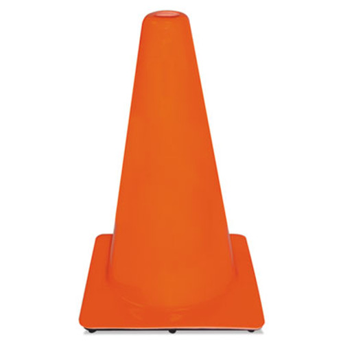 3M Non-Reflective Safety Cone, 11 x 11 x 18, Orange (MMM9012800001)