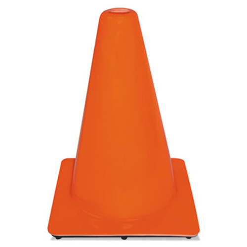 3M Non-Reflective Safety Cone, 9 x 9 x 12, Orange (MMM9012700001)