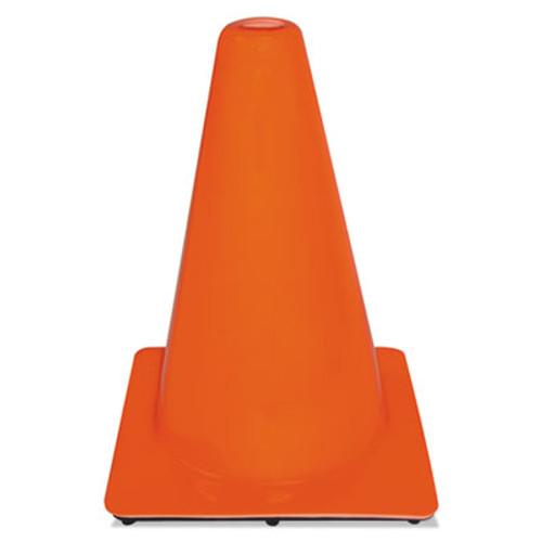 3M Non-Reflective Safety Cone  9 x 9 x 12  Orange (MMM9012700001)