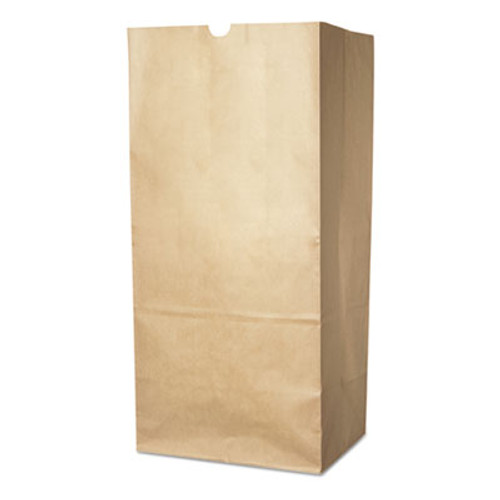 Duro Bag Lawn and Leaf Self-Standing Bags  30 gal  16  x 35   Kraft Brown  50 Carton (DRO13818)
