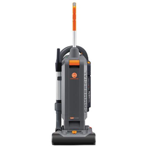 Hoover Commercial HushTone Vacuum Cleaner with Intellibelt  13   Orange Gray (HVRCH54113)