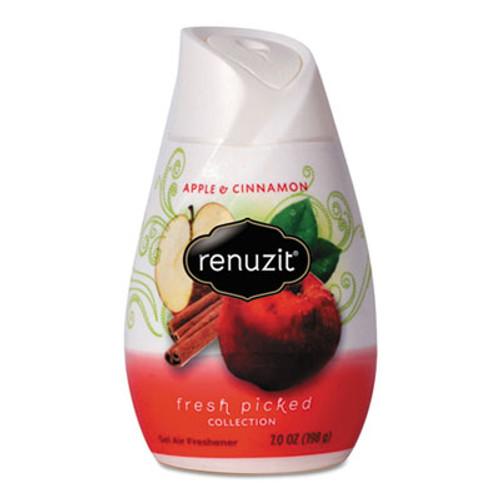 Renuzit Adjustables Air Freshener, Apples and Cinnamon, 7 oz Cone, 12/Carton (DIA03674)