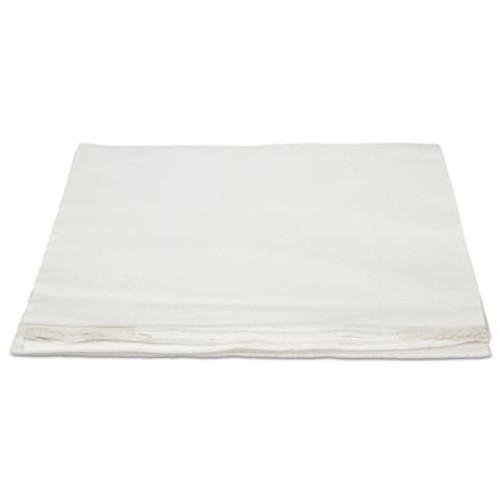 HOSPECO TASKBrand TopLine Linen Replacement Napkins  White  16 x 16  1000 Carton (HOSNLRVDFBW)