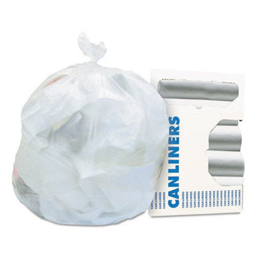 Heritage High-Density Waste Can Liners  16 gal  6 microns  24  x 33   Natural  1 000 Carton (HERZ4833RNR01)