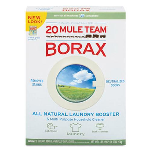 Dial 20 Mule Team Borax Laundry Booster, Powder, 4 lb Box (DIA00201)