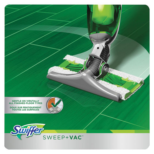 Swiffer Sweep   Vac Starter Kit with 8 Dry Cloths  2 Kits Carton (PGC92705CT)
