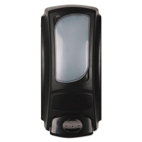Dial Professional Eco-Smart Dispenser for 15oz Refills, 3.875 x 3.25 x 7.875, Black, Plastic, 6/Ct (DIA98592CT)