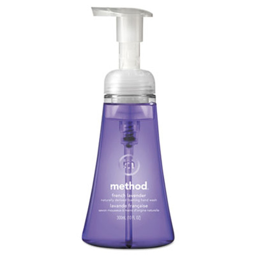 Method Foaming Hand Wash, French Lavender, 10 oz Pump Bottle, 6/Carton (MTH00363CT)