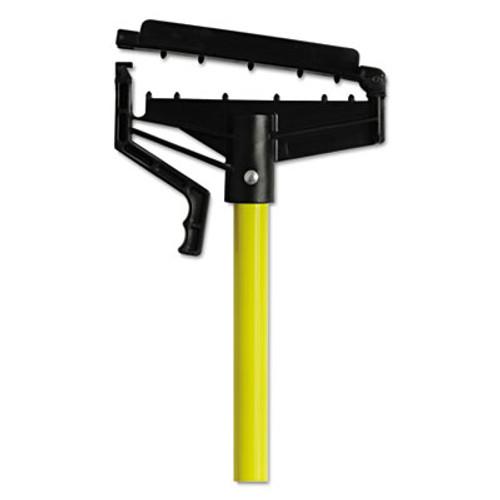 """O-Cedar Commercial Quick-Change Mop Handle, 60"""", Fiberglass, Yellow (DVOCB965166EA)"""