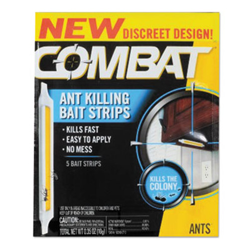 Combat Ant Bait Insecticide Strips  0 35 oz  5 Box  12 Box Carton (DIA01000CT)