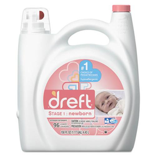 Dreft Ultra Laundry Detergent  Liquid  Baby Powder Scent  150 oz Bottle (PGC80377EA)