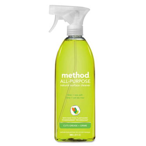 Method All Surface Cleaner, Lime & Sea Salt, 28 oz Bottle (MTH01239EA)