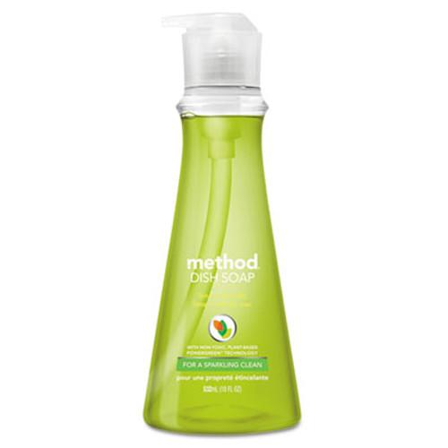 Method Dish Soap  Lime   Sea Salt  18 oz Pump Bottle  6 Carton (MTH01240)