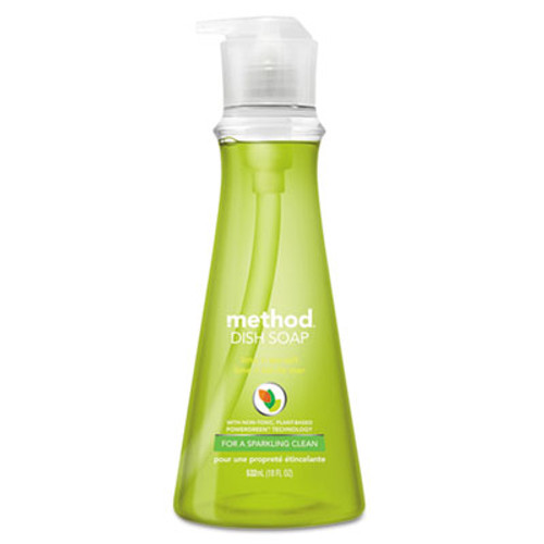Method Dish Soap  Lime   Sea Salt  18 oz Pump Bottle (MTH01240EA)