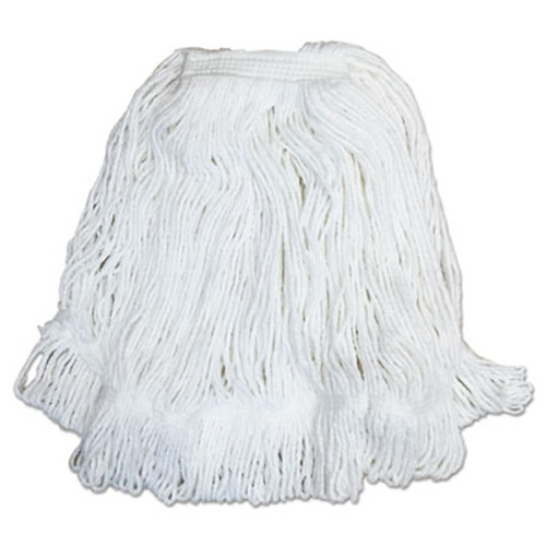 Boardwalk Pro Loop Web Tailband Mop Head  White   32  Rayon  1 3  Headband  12 Carton (BWK4032R)