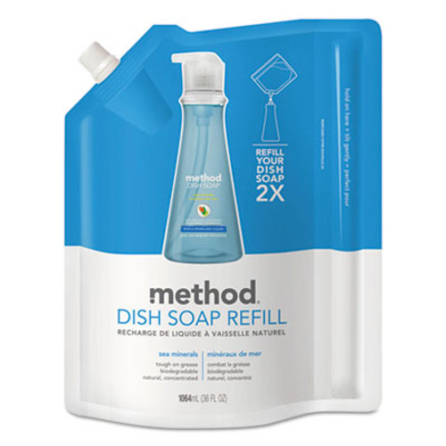 Method Dish Soap Refill  Sea Minerals  36 oz Pouch (MTH01315EA)