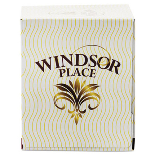 Resolute Tissue Windsor Place Cube Facial Tissue  2-Ply  White  85 Sheets Box  30 Boxes Carton (APM336)