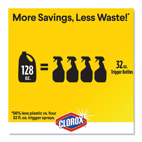 Clorox Urine Remover for Stains and Odors  128 oz Refill Bottle (CLO31351EA)
