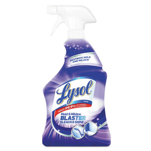 LYSOL Brand Mold and Mildew Remover with Bleach  Ready to Use  32 oz Spray Bottle (RAC78915EA)