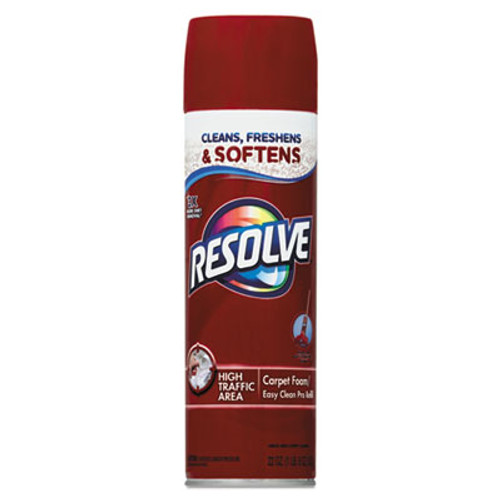 RESOLVE Foam Carpet Cleaner  Foam  22 oz  Aerosol Can  12 Carton (RAC00706CT)