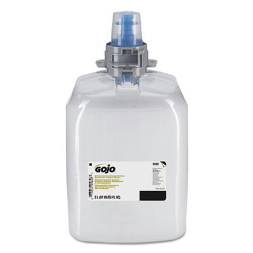 GOJO Invigorating 3-in-1 Shampoo and Body Wash  Botanical  2000mL Refill  2 Ctn (GOJ529202)