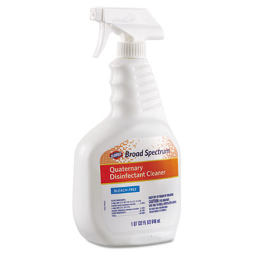Clorox Broad Spectrum Quaternary Disinfectant Cleaner  32oz Spray Bottle  9 Carton (CLO30649)