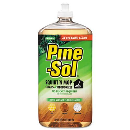 Pine-Sol Squirt 'n Mop Multi-Surface Floor Cleaner  32 oz Bottle  Original Scent (CLO97348EA)