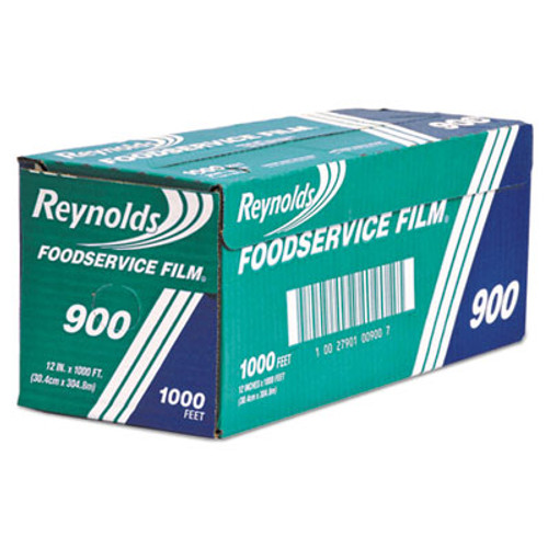 Reynolds Wrap Continuous Cling Food Film, 12 in x 1000 ft Roll, Clear (RFP900BRF)