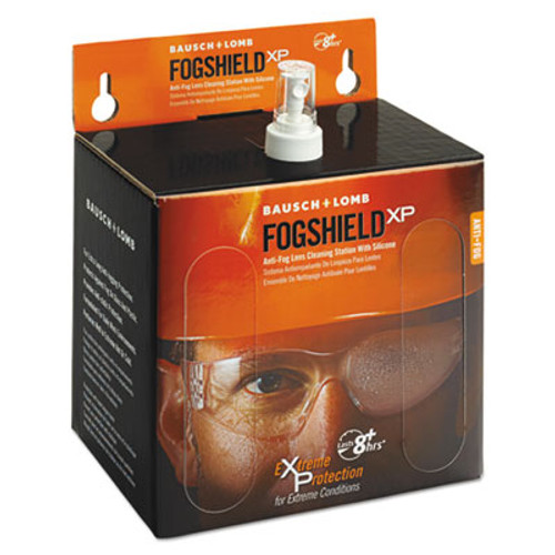 Bausch & Lomb Sight Savers FogShield Disposable Lens Cleaning Station  12 oz Bottle  1425 Tissues (BAL8577)
